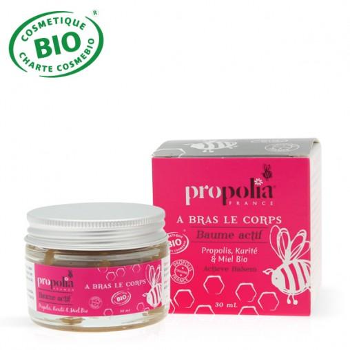 Baume actif propolis & miel BIO