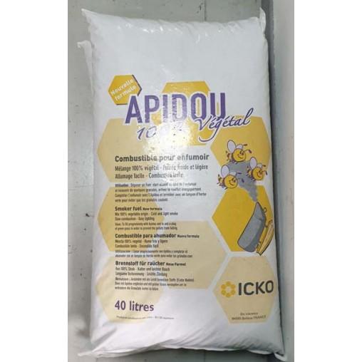"""Combustible """"Apidou"""" pour enfumoir - le sac de 31 kg"""