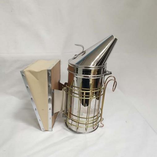 Enfumoir inox avec protection - diamètre 100 mm