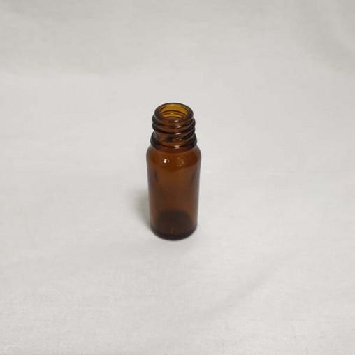 Flacon en verre brun 10 ml (en pack - unité)