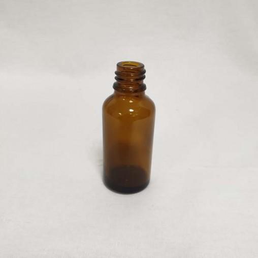 Flacon en verre brun 30 ml (en pack - unité)