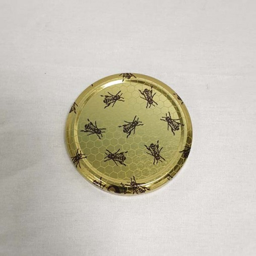 Capsule TO82 - motif alvéoles et abeilles (à l'unité)