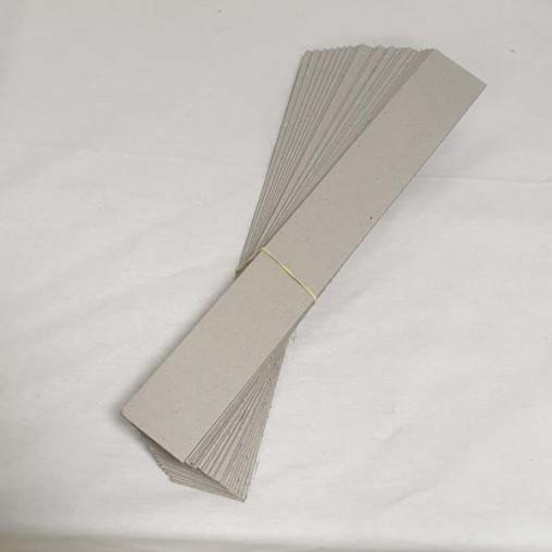 Bandelette carton pour thymol - paquet de 25