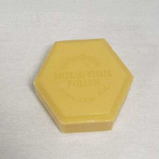 Savon hexagonal 100 g - Pollen parfum chèvrefeuille