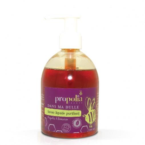 Savon liquide pour les mains Propolis & romarin