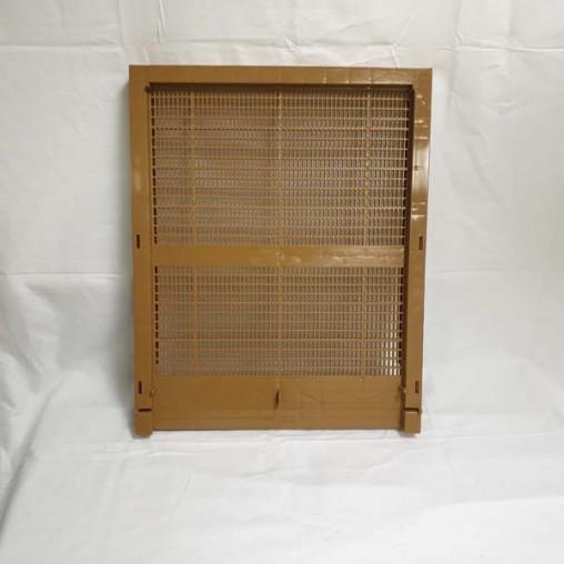 Fond de ruche Dadant 10 C en plastique - aération totale