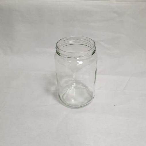 Pot en verre cylindrique 750 ml TO82 (en vrac - unité)